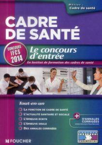 Examens du Concours de l'institut de formation des cadres de santé (IFCS)