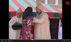 الملك محمد السادس يوشح المتفوقين في البكالوريا 2014