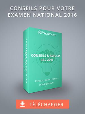 Conseils et Astuces BAC 2016 - Préparez votre examen intelligemment
